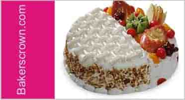 Mixed of Two Cake Flavor Cake in Gurgaon