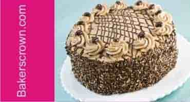 cake delivery in Gurgaon with coffee mocha flavor